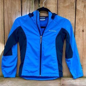 Columbia Splash Flash Hooded Softshell Blue Jacket